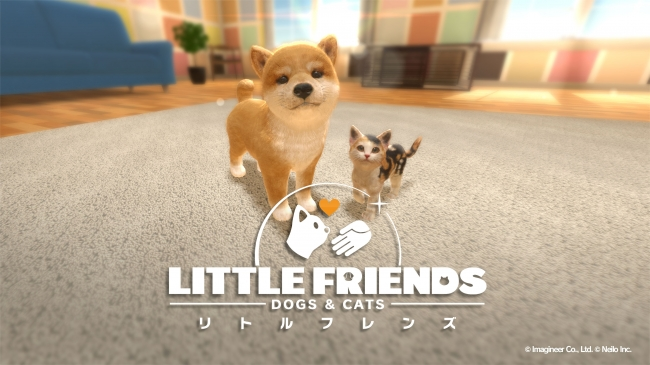 LITTLE FRIENDS –DOGS & CATS-