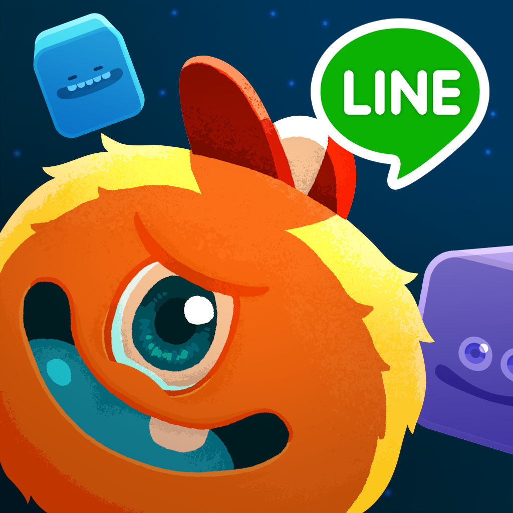 Line キューブヒーローズ