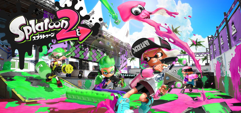 『スプラトゥーン2』 Nintendo Switchで本日7/21より発売!