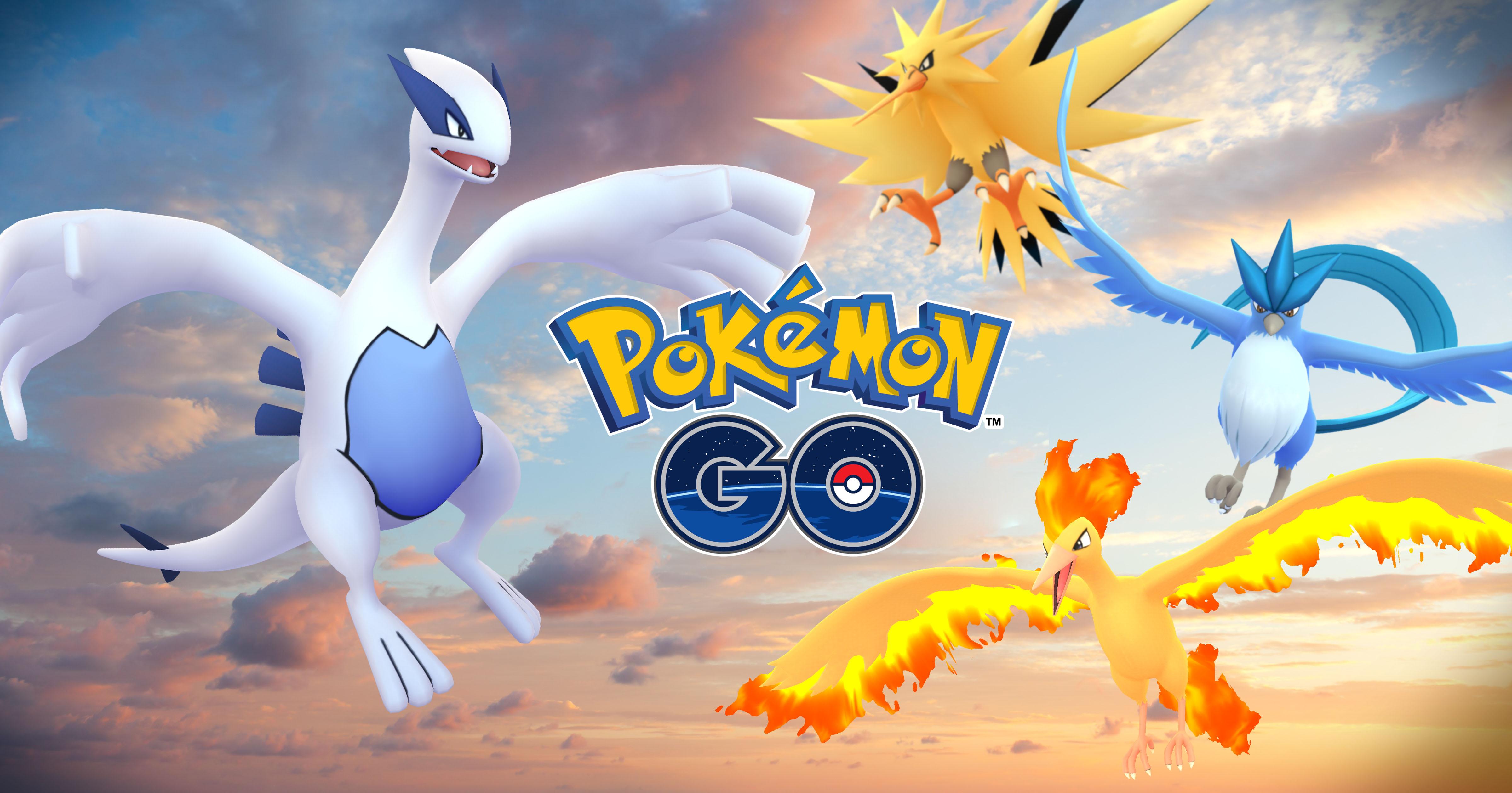 pokémon go』伝説のポケモン「ルギア」「フリーザー」が世界各地で出現