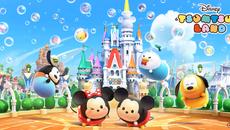『ディズニー ツムツムランド』 コロプラの新作パズルゲームの配信がスタート!