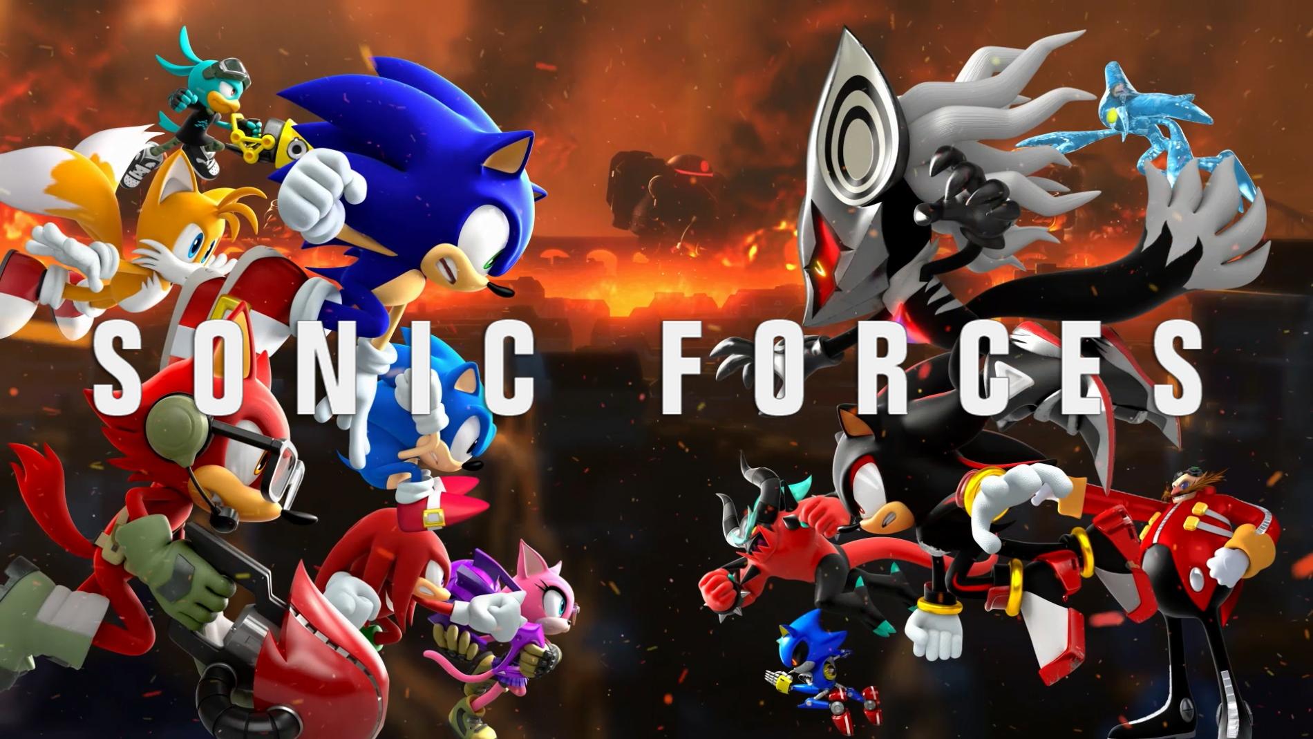 『ソニックフォース』 シリーズ完全新作が発売&DLCの配信も開始!