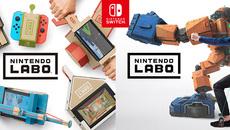 """『Nintendo Labo』工作とビデオゲームが融合した""""新しいあそび""""登場!"""