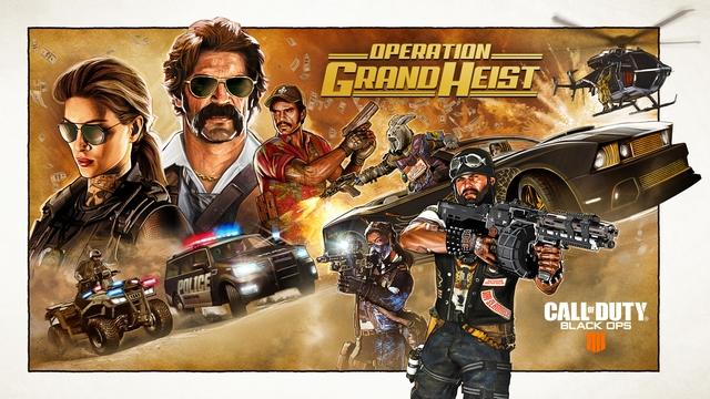 『CoD: BO4』Operation Grand Heistアップデート配信!