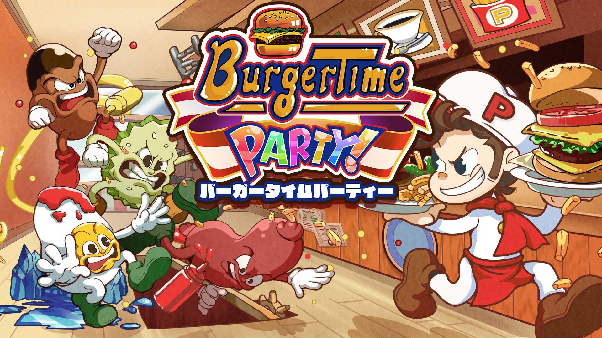 『バーガータイムパーティー』シリーズ完全新作の新情報が公開!