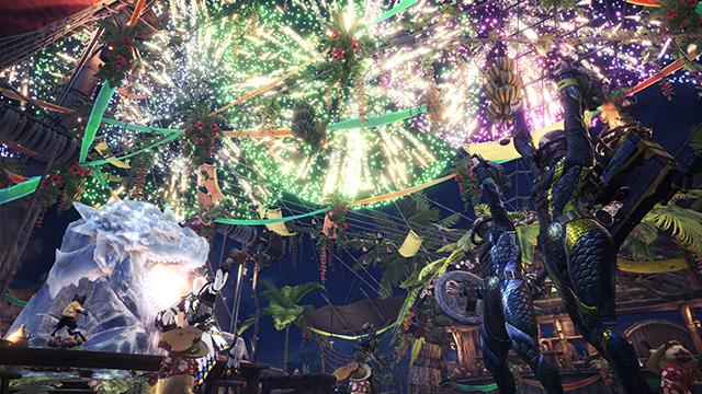 『モンスターハンター:ワールド』7/26より期間限定で「アステラ祭」開催!