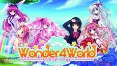 美少女コレクションパズルRPG 『Wonder4World』 の事前登録が開始!