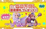 日本語版『Flyff All Stars』50万DL達成!御礼プレゼントを配布!