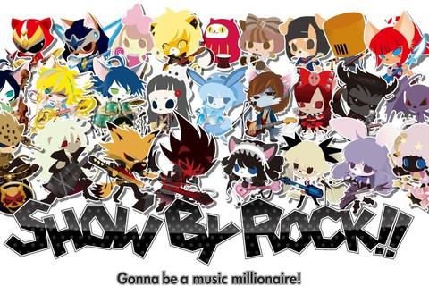 音楽ゲームアプリ『SHOW BY ROCK!!(ショウ・バイ・ロック!!)』 8/31より新譜を先行配信!