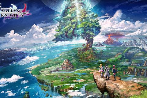 サイバード初の本格王道ファンタジーRPG『ヴァリアントナイツ』App Store、Google Playにて配信開始!