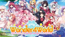 美少女コレクションパズルRPG『Wonder4World』のAndroid版が12/22より配信開始!